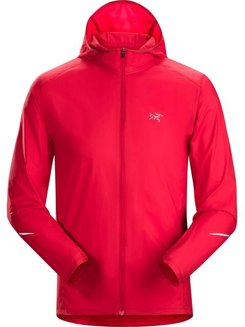 Arc'teryx Incendo - Chaqueta Running Hombre - rojo